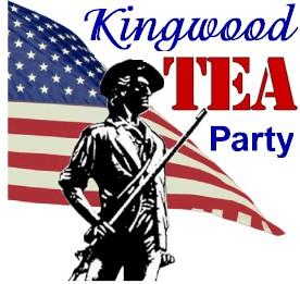 Logo with Kingwood in script font