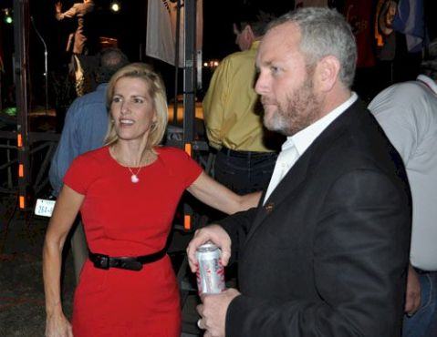 Laura Ingraham & Andrew Breitbart at Texas Patriots Tea Party PAC