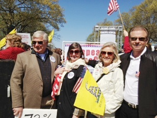 KWTP Members on at AFP Rally (SCOTUS Obamacare 3-12)