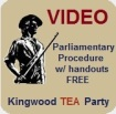 Free Parliamentary Procedure Videos with Handout